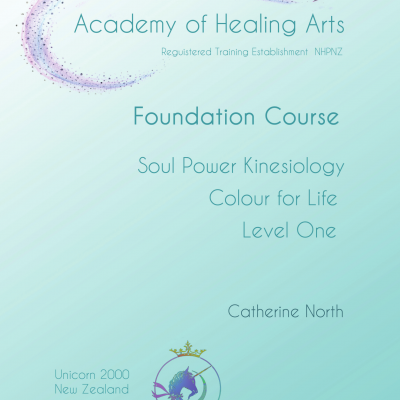Foundation Manual for Soul Power Kinesiology & Colour for Life